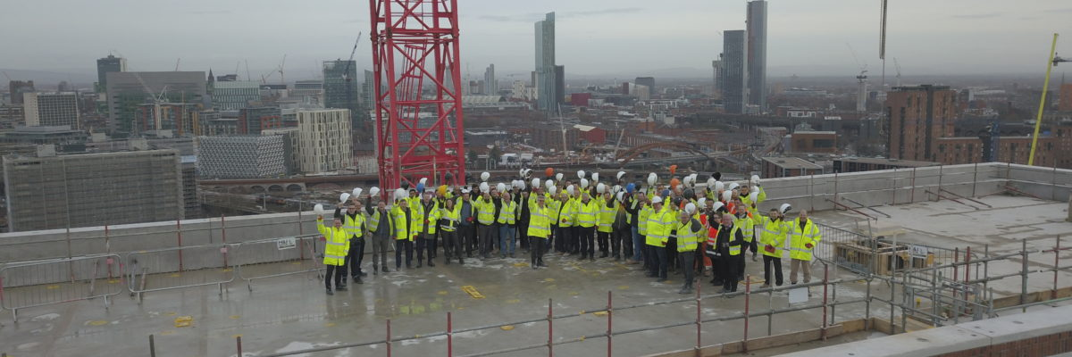 Topping Out Ceremony Outwood Wharf 6 Feb 19
